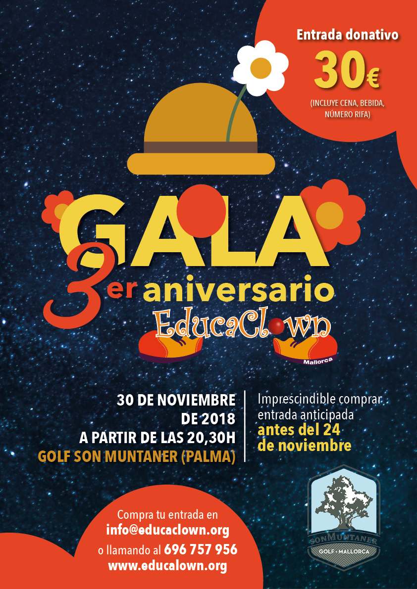 Gala 3er Aniversario Educaclown